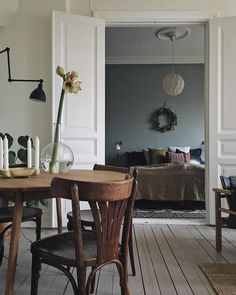 What a charming home in Sweden @hannahperssons