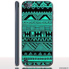 iPod Touch 6 Coque Tribal Azteque - Coque personnalisée rigide pour Apple iPod Touch 6