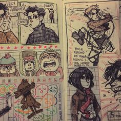 I'm pretty sure this is a Sketchbook page by Tamaytka~