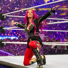 Sasha Banks - Wrestlemania 32