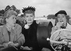 I Love Lucy (scene with Elsa Lancaster) -- The girls thinking their car pool buddy is a serial ax killer... and vice versa.