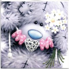 Teddy Images, Teddy Pictures, Cute Images, Teddy Bear Tattoos, Teddy Bear Quotes, Teddy Beer, Snowflake Template, Blue Nose Friends, Tatty Teddy