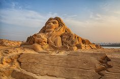 Sand Sculpture - The Lion King | Flickr - Photo Sharing!