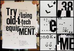 tipografía del cartel por patswerk