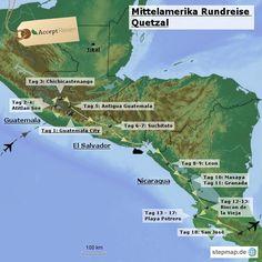 Mittelamerika Rundreise Quetzal. Englisch geführte Rundreise durch Guatemala, El Salvador, Nicaragua und Costa Rica zu bekannten Sehenswürdigkeiten und Geheimtipps mit Badeurlaub an der schönen Pazifikküste Costa Ricas. Costa Rica Reisen, Guatemala City, Tikal, Granada, Travel Destinations, San, Dreams, Chichicastenango, Antigua Guatemala