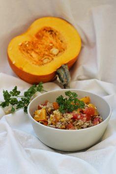 Pumpkin Rice Mix / Kürbis-Reis-Pfanne mit Hackfleisch