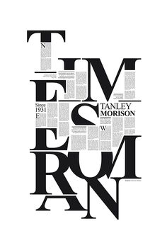 Times New Roman // Tribute to Stanley Morison.