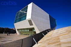 Casa de Musica in Porto, Portugal #Architecture #Art #Design #Travel