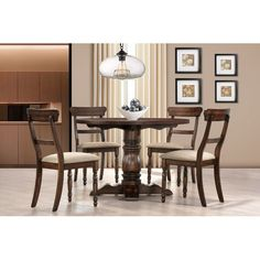 You'll love the Selena 5 Piece Dining Set at Wayfair - Great Deals on all Furniture products with Free Shipping on most stuff, even the big stuff.