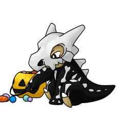 Halloween Skeleton Cubone Ghost Pokemon, Pokemon Funny, Pokemon Memes, All Pokemon, Halloween Skeletons, Halloween Themes, Pokemon Halloween, Pokemon Tattoo, Pokemon Coloring
