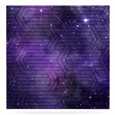 "East Urban Home 'Cosmic Labyrinth' Graphic Art Print on Metal Size: 10"" H x 10"" W x 1"" D"