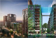 Apartment Tower Fttall To Be Worlds First Building Covered - 384ft tall apartment will be the worlds first building to be covered in evergreen trees