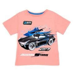 Get set for everyday adventures with our Jackson Storm T-Shirt! The bold tee features awesome character artwork with metallic details and an appliqué badge. 4 Years, Jackson, Kids Fashion, Boys, Mens Tops, T Shirt, Child Fashion, Baby Boys, Children