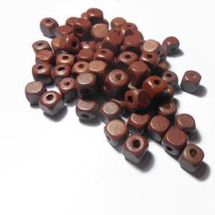 Square Wooden Beads Diy Jewelry Supplies Jewelry findings Jewelry Making Natural wood beads Bead supplies Craft supplies by Neda Diy Jewelry Supplies, Beading Supplies, Craft Supplies, Wood Colors, Wooden Beads, Jewelry Findings, Natural Wood, My Etsy Shop, Jewelry Making