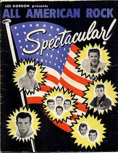 "Eddie Cochran on tour ""All American rock"""
