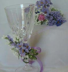 Beaded flowers  fiori di perline