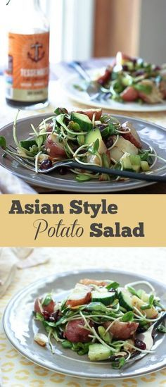 Zesty Asian Style Potato Salad | Food Confidence