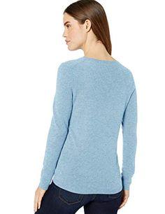 5484ec2b28652 Lark   Ro Women s V-Neck Pullover Cashmere Sweater