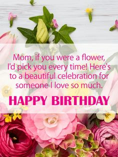 Send Free To a Beautiful Celebration - Happy Birthday Card for Mother to Loved Ones on Birthday & Greeting Cards by Davia. It's free, and you also can use your own customized birthday calendar and birthday reminders. Happy Birthday Mom Letter, Happy Birthday Mom From Daughter, Happy Birthday Mom Wishes, Happy Birthday Mom Images, Birthday Cards For Mother, Birthday Reminder, Happy Birthday Beautiful, Happy Birthday Greetings, Mom Birthday