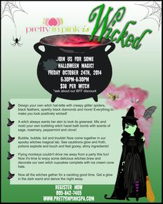 News and Events Wicked – Halloween Event – October 24 @pipspa