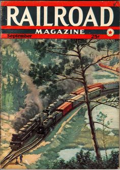 Railroad magazine covers