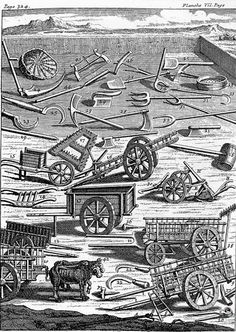 Early American Gardens: Equipment - Tools