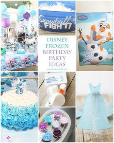 Disney Frozen Birthday Party - Laura's Crafty Life