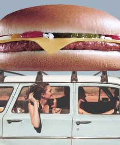 burger car roof