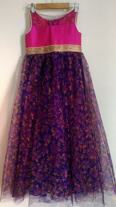 Outstanding Summer Fresh Look. Lovely Colors and Shapep. Baby Girl Party Dresses, Little Girl Dresses, Baby Dress, Girls Dresses, Kids Indian Wear, Kids Ethnic Wear, Kids Dress Wear, Kids Gown, Kids Blouse Designs