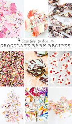 9 Creative takes on Chocolate Bark Dessert Recipes - Delineate Your Dwelling