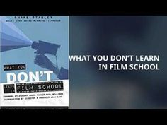 PUYB Book Teasers: Book Teaser: What You Don't Learn in Film School b...
