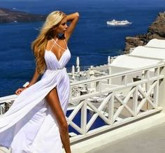 Perfect white sleeveless casual dress for girls | Fashion and styles
