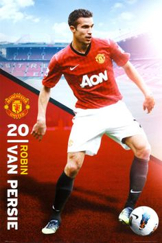 Robin van Persie - Manchester United Posters from AllPosters.com