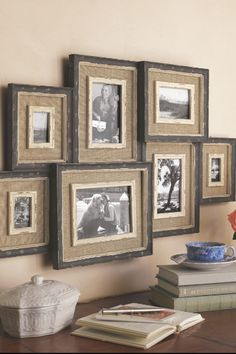 Brocante Collage Frame - Multi Picture Wall Frame, Home Accents, Home Decor | Soft Surroundings