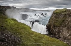 https://flic.kr/p/xvmYsR | Gullfoss | Gullfoss is one of the most populatourist attractions in Iceland.