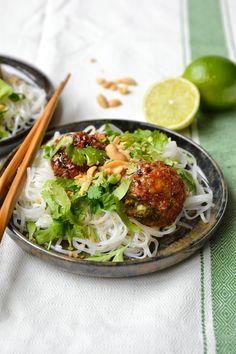 Simple comme une salade de boulettes vietnamiennes