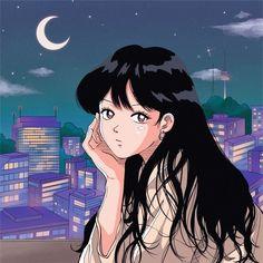 Cartoon Kunst, Cartoon Icons, Cartoon Art Styles, Art Anime, Anime Art Girl, Manga Anime, Arte Do Kawaii, Kawaii Art, Aesthetic Art