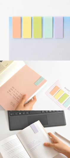 These beautifully colored bookmarks feature magnets inside to help you return to the pages quickie by holding the pages!