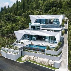 Luxury Homes Dallas Fort Worth . Dream Home Design, Modern House Design, My Dream Home, Millionaire Homes, Dream Mansion, Mansion Houses, Luxury Homes Dream Houses, Modern Mansion, Dream House Exterior