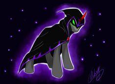 Sombra Under The Cloak by xXMarkingXx on DeviantArt Shadow King, Mlp Characters, My Little Pony Comic, Dark Look, Creepy Cute, My Little Pony Friendship, Cloak, Slytherin, Dark Side