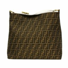 Fendi Canvas Hobo 8BR653 Tobacco White from Discountpluss for $1,650.00 on Square Market
