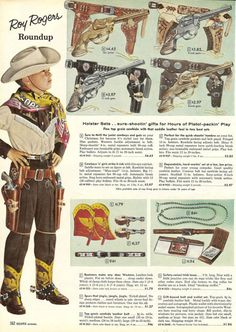 brokeback mountain accessories, sears christmas catalogue, 1958