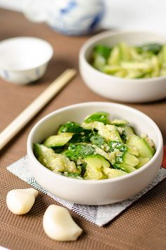 Easy Chinese cucumber salad only takes 5 minutes to make. It's low in calories and delicious.