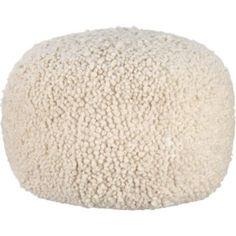 Poodle pouf - CB2