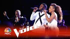 "The Voice 2015 - Jason Derulo, India Carney and Kimberly Nichole: ""Want ..."