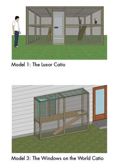Complete DIY Catio Design Guide to Help You Build Your Own Outdoor Cat Enclosure! #Cats #CatEnclosure