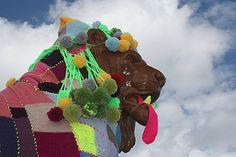 A angers : Knit Graffiti, yarn Bombing, art de la rue