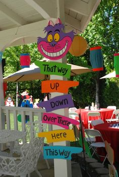 Alice in Wonderland, Mad Tea Party Birthday Party Ideas