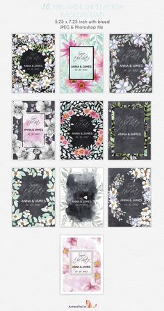 FLORAL FIELD collection  - Illustrations - 8
