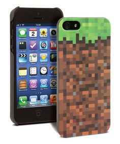Look what I found on #zulily! Minecraft Grassy Block Case for iPod Touch #zulilyfinds